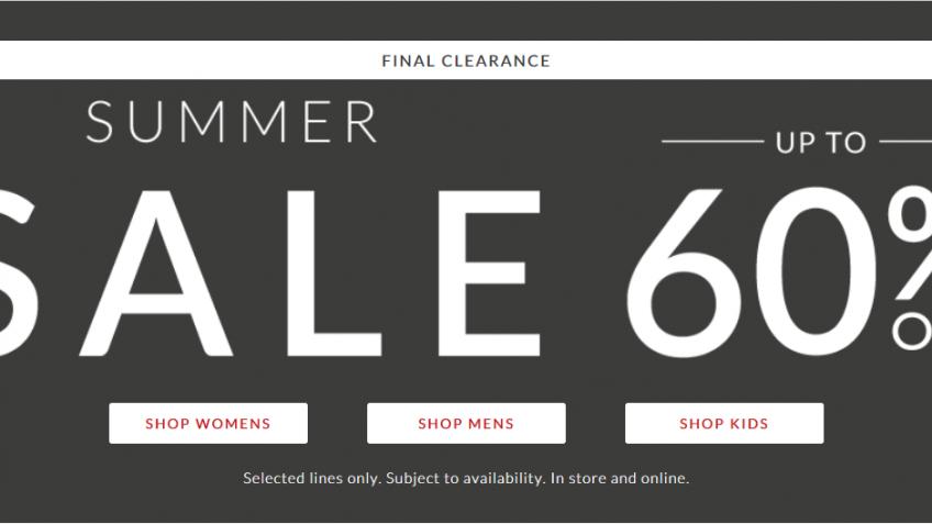 Clarks Summer Sale