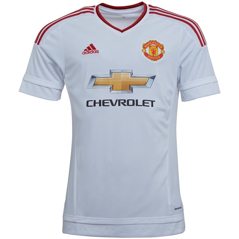 MUFC Manchester United Away Shirt Real White